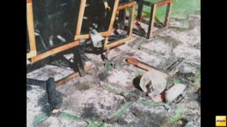神宮外苑イベント火災 原因とみられる白熱電球の写真を独自入手.png