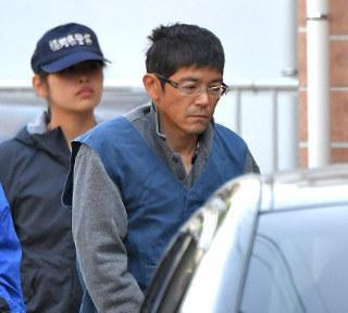 <福岡女性刺殺>殺人容疑の47歳男を立ち会わせ、現場検証.jpg